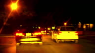 HD 1080i Driving at Night 5 video