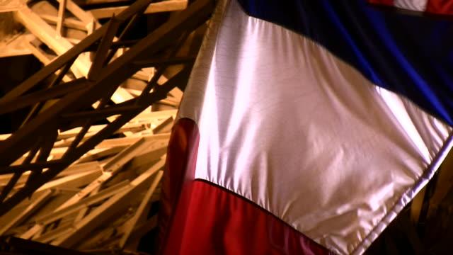 HD 1080i French Flag Waving video