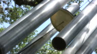 HD 1080i Giant Wind Chimes with Sound 4 video