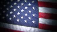 HD 1080i Grungy American Flag video