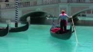 HD 1080i Italian Gondola in Las Vegas 1 video