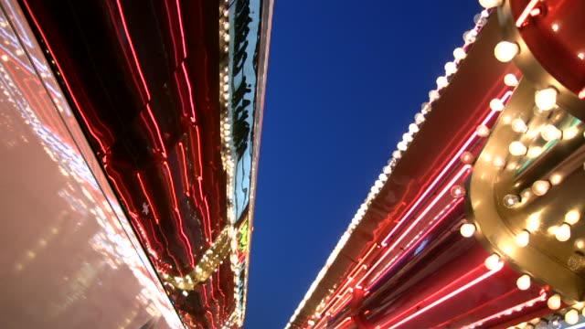 HD 1080i Las Vegas Neon Lights flickering 13 video
