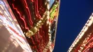 HD 1080i Las Vegas Neon Lights flickering 17 video