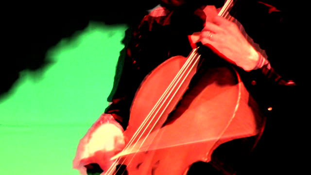 HD 1080i Man playing Cello 5 video