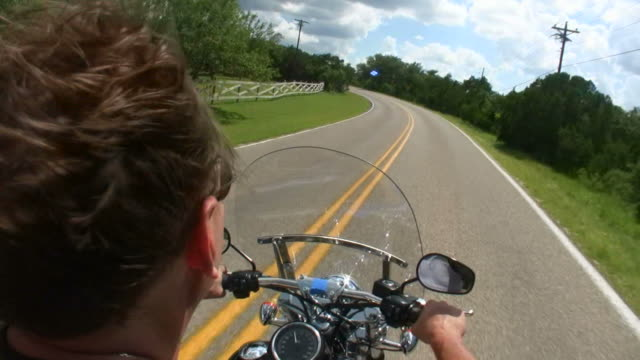 HD 1080i Motorcycle Ride 17 video