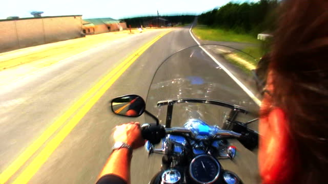 HD 1080i Motorcycle Ride 22 video
