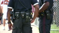 HD 1080i Police at Concert Festival in Austin Texas 2 video