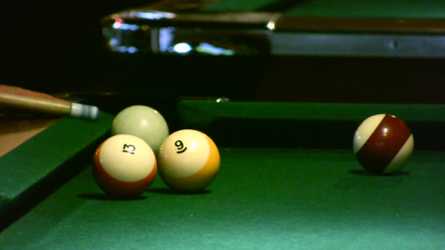 HD 1080i Pool Hall Billiards video