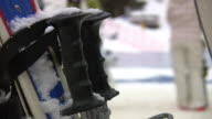 HD 1080i Shallow Focus Ski Poles 3 video