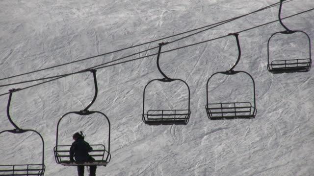 HD 1080i Ski Lift in Colorado 2 video