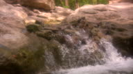 HD 1080i Soft Water flowing over Rocks video