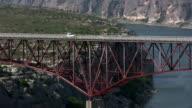HD 1080i Truck going over Texas bridge 4 video