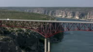 HD 1080i Truck going over Texas bridge 5 video