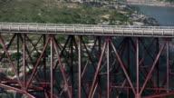 HD 1080i Truck going over Texas bridge 6 video