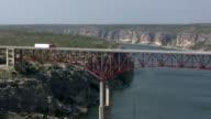 HD 1080i Truck going over Texas bridge 7 video