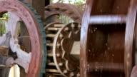 HD 1080i Water Wheel Gears 2 video