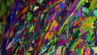 HD 1080i Wet Paint Abstract Composite 2 video