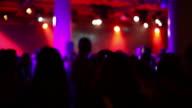 1080p HD backlit nightlife video