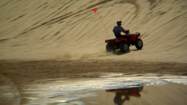 HD 1080p Quad Jumping Off Dune video
