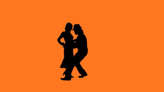 HD 1080p Salsa Dancers - The Hat Trick video