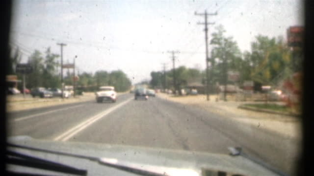 1950s USA Road(8mm movie) video