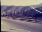 1970s North America: Highway, Freeway, Expressway, Pike drive (8mm film) video