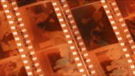 35mm Photo Video Film Strips Pan Vintage video