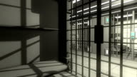 3d jail interior video