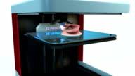3d printer printing ear transplant video