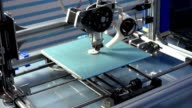 3d printing processing with modern filament printer video