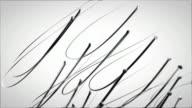 3d veins composition HD video