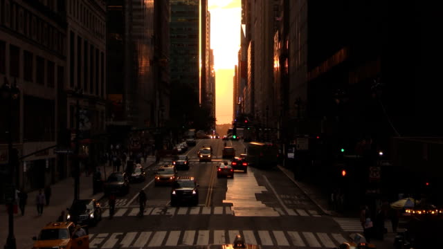 42nd Street City View in Manhattan video