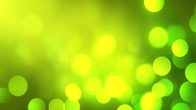 4k Abstract Bokeh Background Loop (Green) video