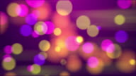 4k Abstract Mix Color Bokeh Background. Seamless Loop video