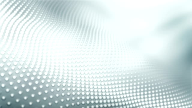 4k Abstract Pattern Background Loop (White / Silver / Gray) video