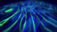 4k digital lines lights ideias video