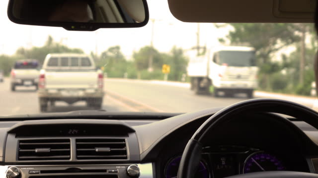 4k, Driving car country road video
