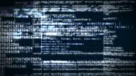 4k: HTML Code Background Seamless Loop - Vidéo