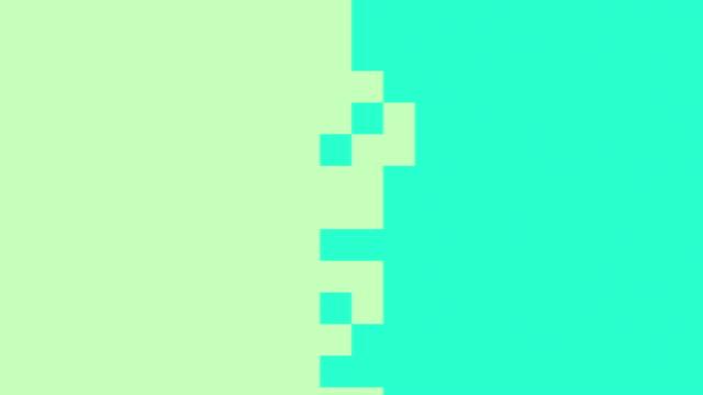 4k Pastel Pixel Animation Background Seamless Loop. video