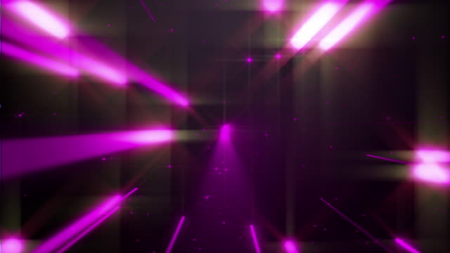 4k Purple Dance of Lights Background Concert Animation Seamless Loop. video