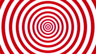 00:00 | 00:00 1×  4k Red and White Seamless Looping hypnosis spiral Background. video