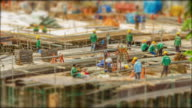 4k Time Lapse  (4096x2160) :The construction site (Apple ProRes 422 (HQ) format). video