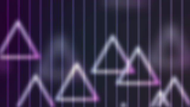 4k Triangle Abstract Background Animation video