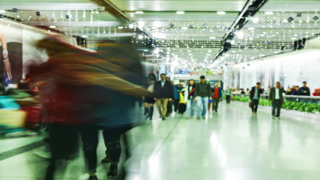 4k.Airport Concourse video
