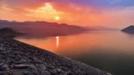 4k.Beautiful Sunset video