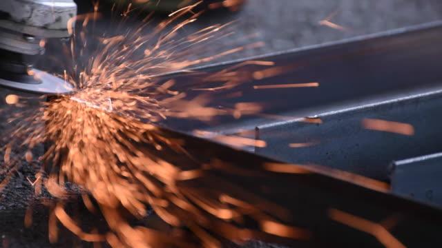 4k.Grinding Steel video