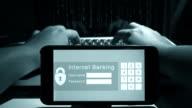 4K:Hacker access to smart phone. video