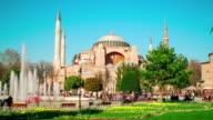 4K:Hagia Sophia, Istanbul, **Time Lapse** video
