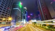 4K.Hong Kong night video