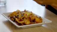 4K:Serving Korean Food style video